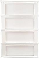 Комод пластиковый Berossi Bongo АС 20901000 (белый) -