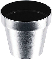 Кашпо Prosperplast Cube DGC140SF-877C (chrome silver) -