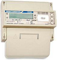 Счетчик электроэнергии Энергомера СЕ 301 BY R33 043 JAVZ (5А) -