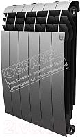 Радиатор биметаллический Royal Thermo Biliner 500 Silver Satin (1 секция) -