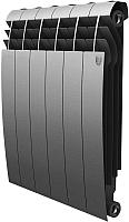 Радиатор биметаллический Royal Thermo Biliner 500 Silver Satin (6 секций) -