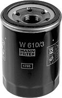 Масляный фильтр Mann-Filter W610/3 -