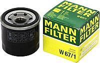 Масляный фильтр Mann-Filter W67/1 -
