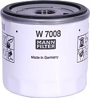 Масляный фильтр Mann-Filter W7008 -