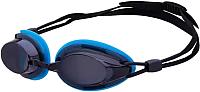 Очки для плавания LongSail Spirit L031555 (черный/синий) -