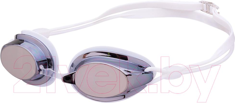 Купить Очки для плавания LongSail, Spirit Mirror L031555 (белый/прозрачный), Китай, силикон