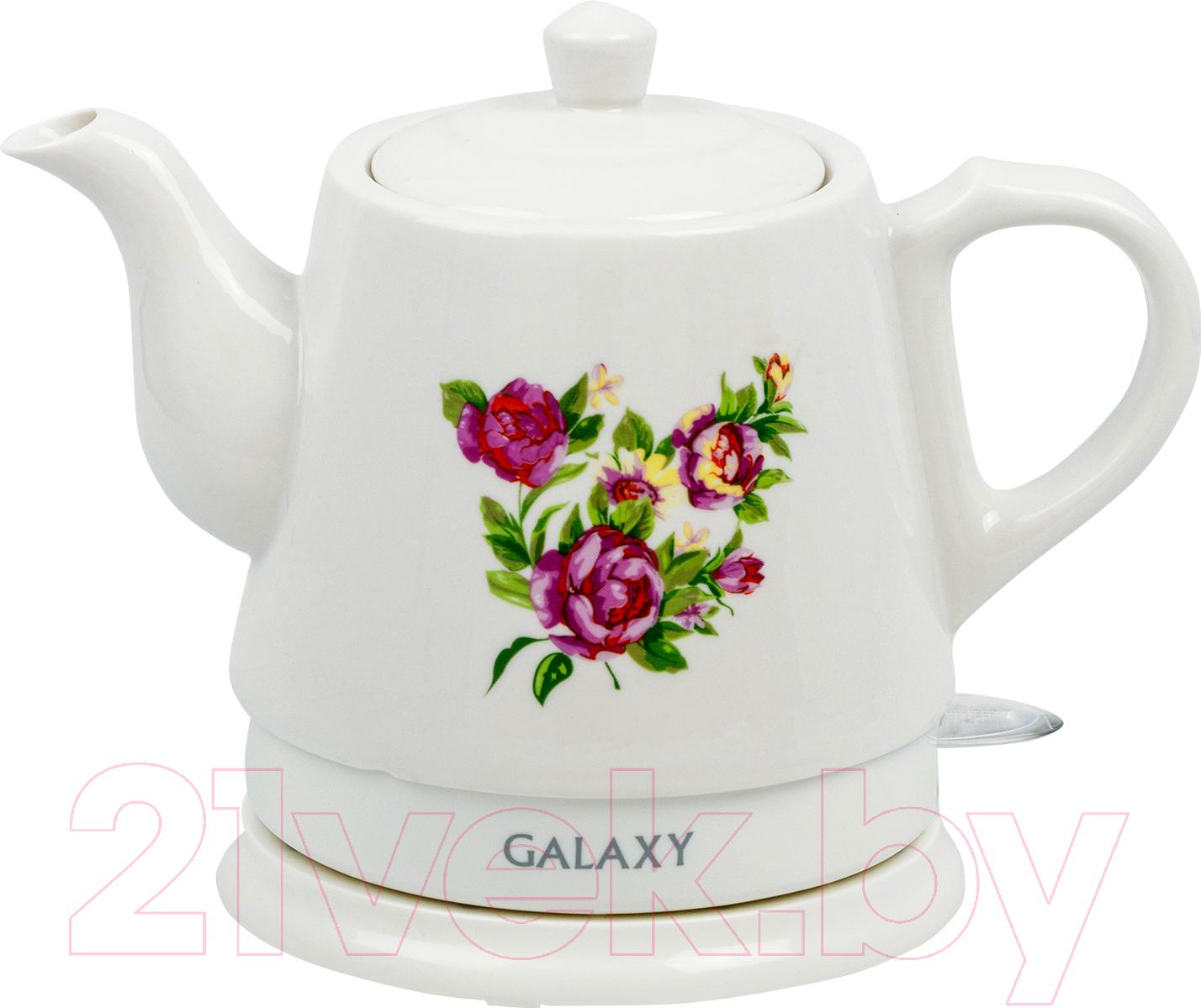 Купить Электрочайник Galaxy, GL 0502, Китай, белый