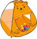 Детская игровая палатка Sundays 304396 -