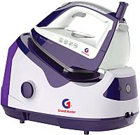 Утюг с парогенератором Grand Master GM-750 (белый/фиолетовый) -