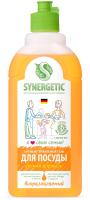 Средство для мытья посуды Synergetic Биоразлагаемое. Апельсин (0.5л) -