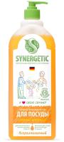 Средство для мытья посуды Synergetic Биоразлагаемое. Апельсин (1л) -