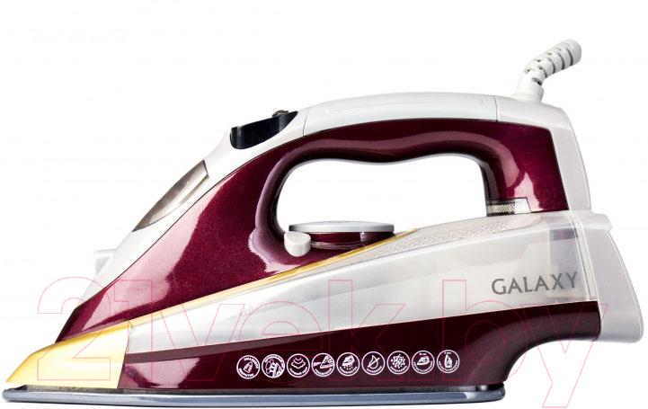 Купить Утюг Galaxy, GL 6122 (бордовый), Китай