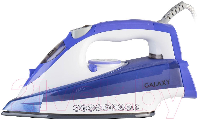 Купить Утюг Galaxy, GL 6122 (синий), Китай