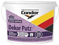 Штукатурка CONDOR Dekor Putz короед 3мм (25кг, белый) -