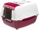 Туалет-домик Ferplast Bella Cabrio / 72060899 (красный) -