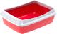 Туалет-лоток Ferplast Nip Plus 20 / 72041299 (красный) -