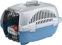 Переноска для животных Ferplast Atlas Deluxe 10 / 73032899 (голубой) -