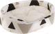 Лежанка для животных Ferplast Dandy F 45 / 82941098 (треугольники, бежевый/черный) -
