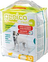 Одноразовая пеленка для животных Ferplast Genico Medium / 85330811 (10шт) -