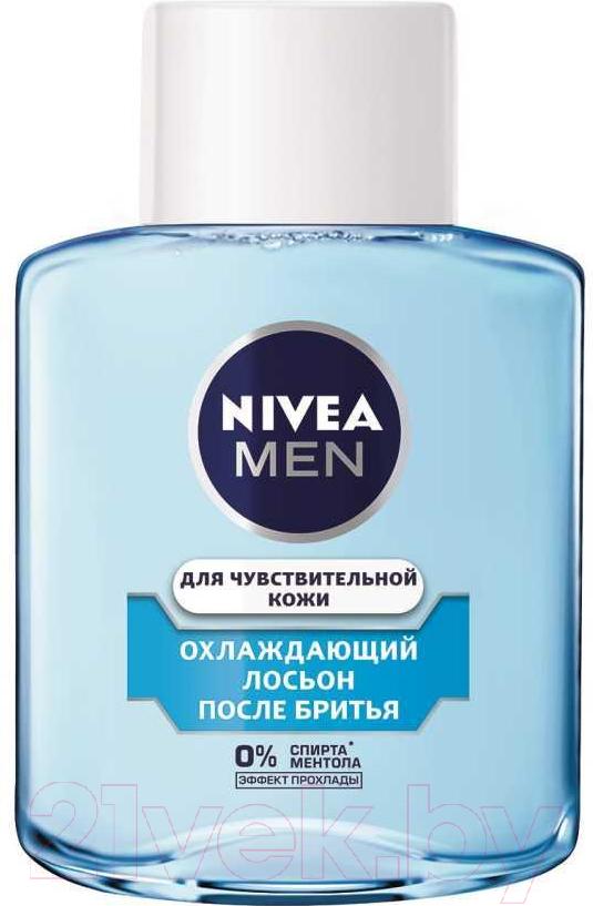Купить Лосьон после бритья Nivea, Men охлаждающий для чувствительной кожи (100мл), Германия