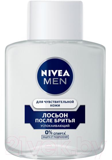 Купить Лосьон после бритья Nivea, Men для чувствительной кожи (100мл), Германия
