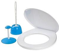 Набор для туалета Berossi Aqua АС 24747000 (голубая лагуна) -
