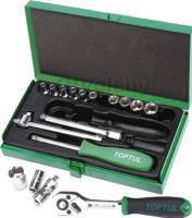 Универсальный набор инструментов Toptul GCAD1702 (17 предметов) -