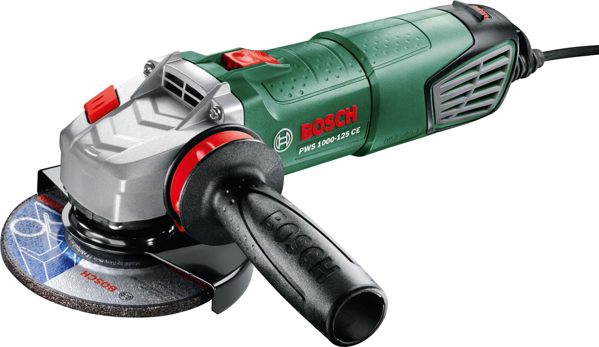 Купить Угловая шлифовальная машина Bosch, PWS 1000-125 CE (0.603.3A2.820), Венгрия