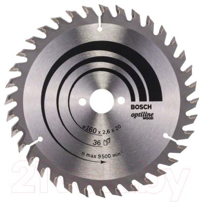 Пильный диск Bosch 2.608.640.597