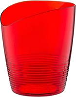 Кашпо Berossi Mia АС 26012000 (красный полупрозрачный) -