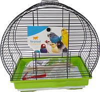 Клетка для птиц Ferplast Luna 1 / 52004517W1 (салатовый) -