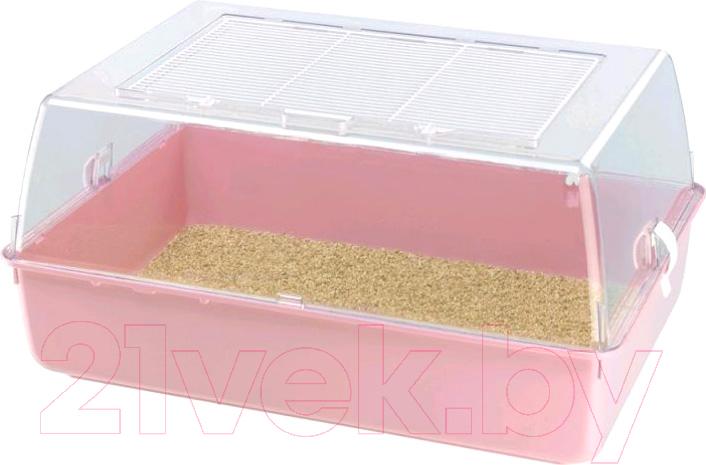 Купить Клетка для грызунов Ferplast, Mini Duna Multy / 57074499W2 (розовый), Италия