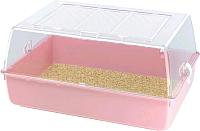 Клетка для грызунов Ferplast Mini Duna Multy / 57074499W2 (розовый) -