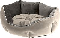 Лежанка для животных Ferplast Queen 45 / 83404503 (бежевый/коричневый) -