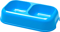 Миска для животных Ferplast Party 16 / 71116099ZP1 (0.7л, голубой) -