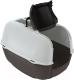 Туалет-домик Ferplast Prima Cabrio / 72053899 (черный) -