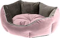 Лежанка для животных Ferplast Queen 45 / 83404501 (розовый/коричневый) -
