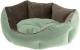 Лежанка для животных Ferplast Queen 45 / 83404502 (зеленый/коричневый) -
