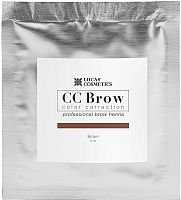 Краска для бровей Lucas Cosmetics Хна в саше (5г, коричневый) -