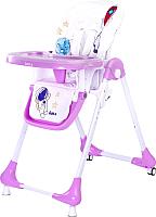 Стульчик для кормления Caretero Luna (фиолетовый) -