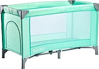 Кровать-манеж Caretero Basic (зеленый) -