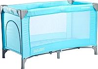 Кровать-манеж Caretero Basic (синий) -