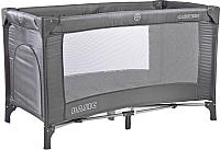 Кровать-манеж Caretero Basic (графитовый) -