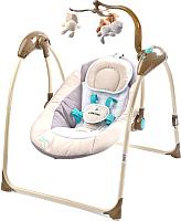 Качели для новорожденных Caretero Loop (бежевый) -
