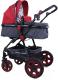 Детская универсальная коляска Lorelli Lora Black Red (10021271800) -