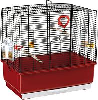 Клетка для птиц Ferplast Rekord 1 / 52006170W2 (бордовый) -