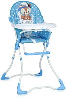 Стульчик для кормления Lorelli Marcel Blue Baby Fox (10100321820) -