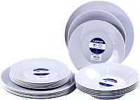 Набор тарелок Luminarc Alizee Granit L8445 (18шт) -