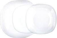Набор тарелок Luminarc Carine White N2184 (18шт) -