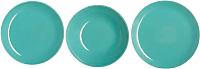 Набор тарелок Luminarc Arty Soft Blue L3650 (18шт) -